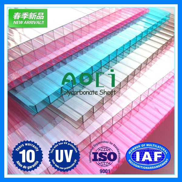 Solid PC Sheet Polycarbonate Translucent Panels Solar Panels Solar Panels Balcony Hollow Channel Awning Vine