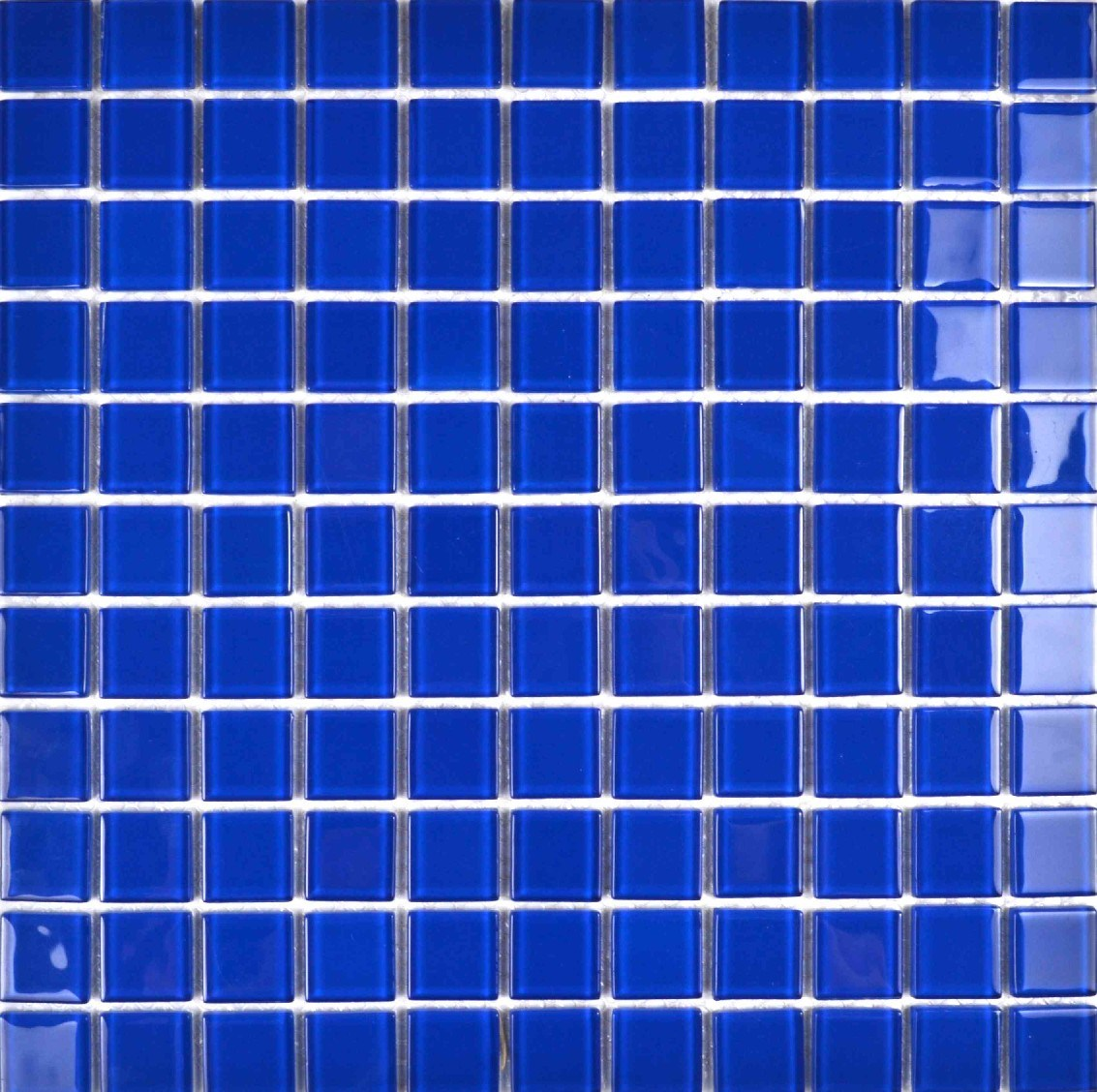 China Blue Swimming Pool Mosaic Tile Glass Bathroom Tile