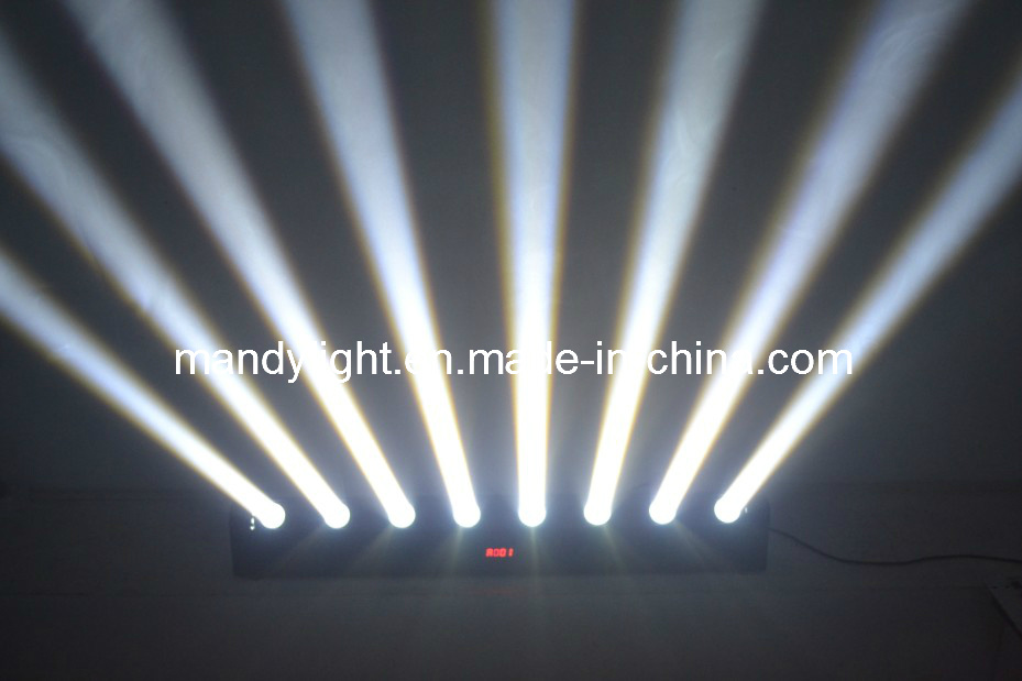Stage Lighting LED Moving Head Beam Light/8PCS LED 8-Eyes Moving Head Beam Light (MD-B018)