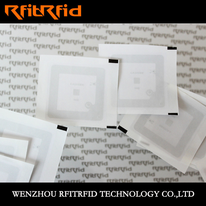 13.56MHz Programmable PVC MIFARE Classic NFC RFID Sticker Ticket