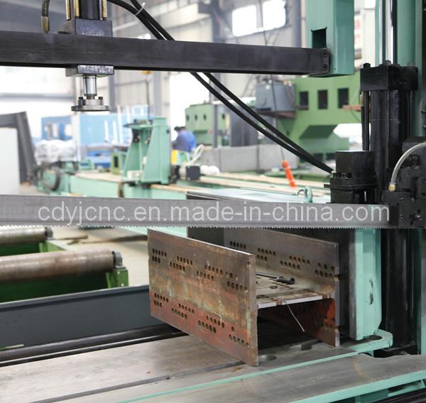 CNC Metal Cutting Band Saw Machine for Hbeam Box Beam Ubeam