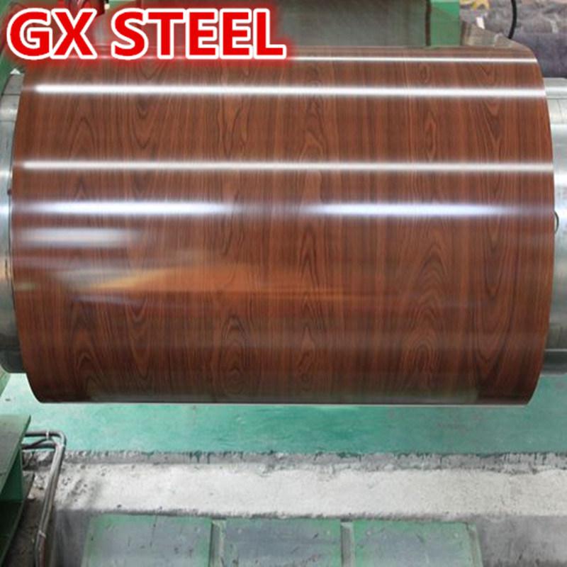 High Quality PPGI Vietnam Wooden Pattern