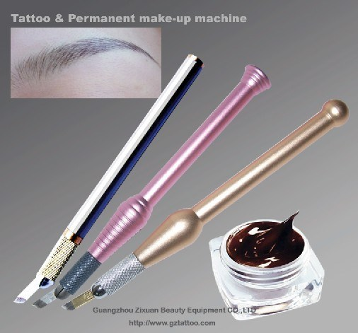 Goochie Permanent Makeup Tattoo Color for Manual Pen