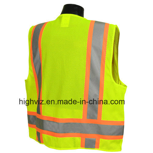 High Quality Reflective Vest with ANSI07 (C2025)