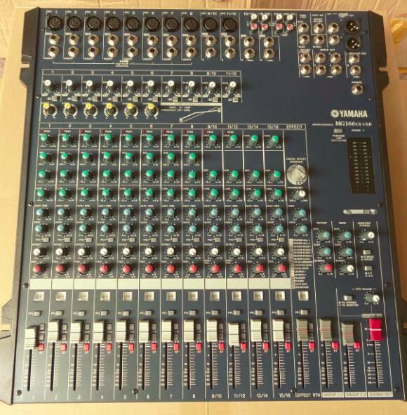 Mixer/Famous Soud Mixer/Professional Mixer /Console/Sound Console/Brand Mixer (MG166CX)