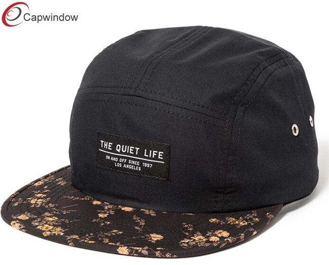 Camping Hat Black Outdoor Cap Headwear (07037)