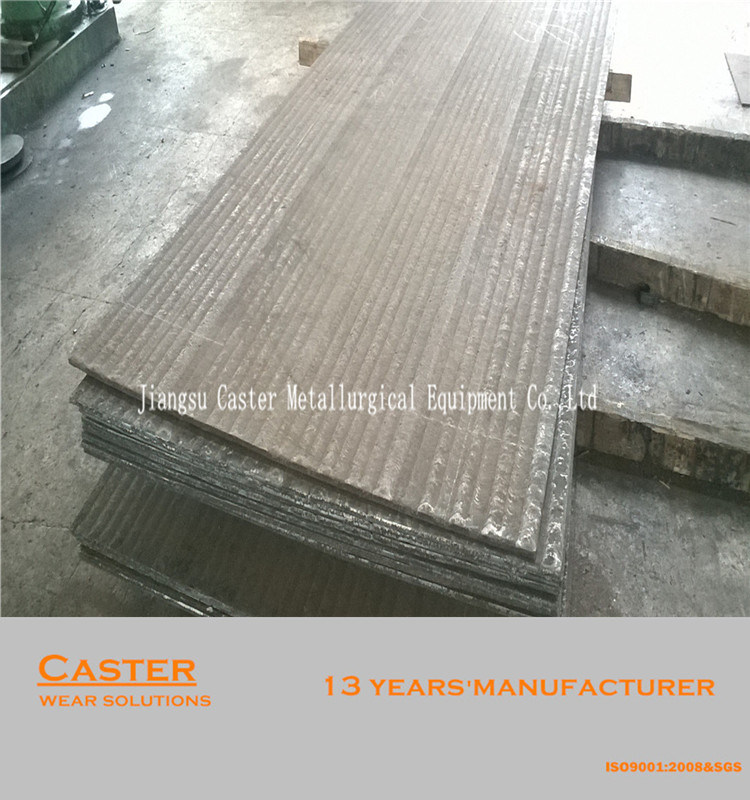 Direct Factory Manufacture HRC58-62 Bimetallic Wear Liner Plate for Fan Blade