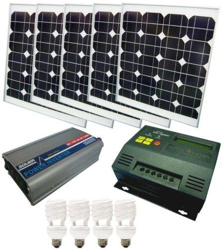 200W off-Grid Solar PV Power System