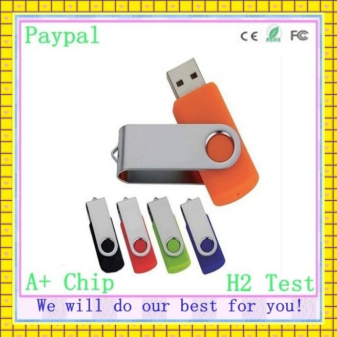 Full Capacity USB Flash Driver 256 GB Swivel Flash Drive (GC-U003)