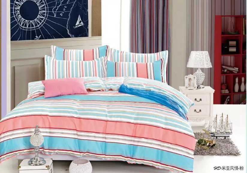 100% Cotton Printed Duvet Cover Set