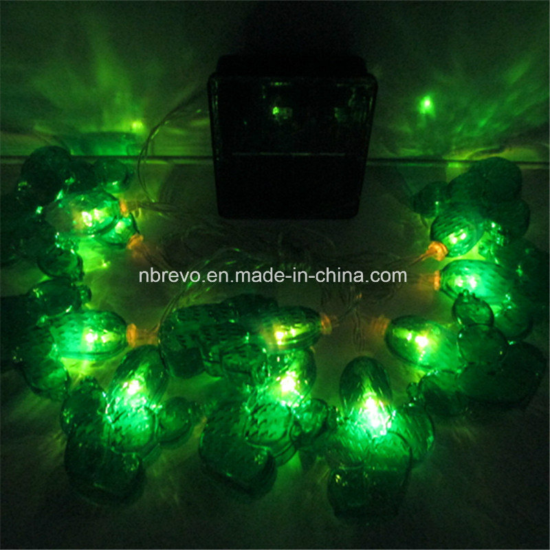 10 LED Solar Powered Cactus String Light (RS1026)