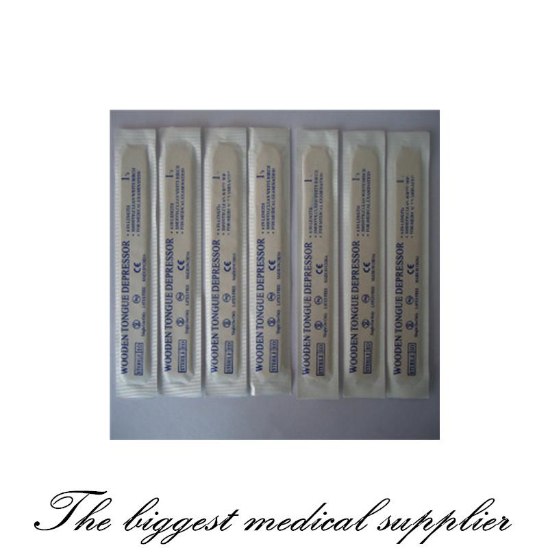 Sterile Disposable Wooden Tongue Depressor