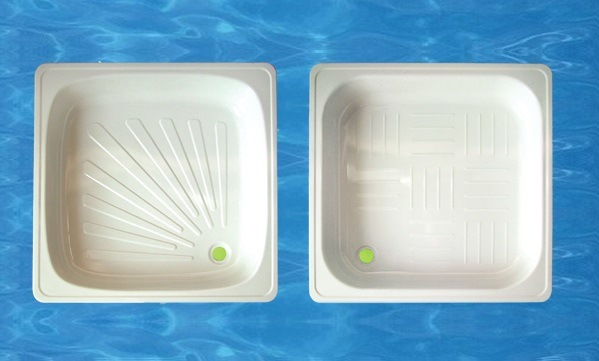 170X70X39cm Simple White Steel Enamel Bathtub
