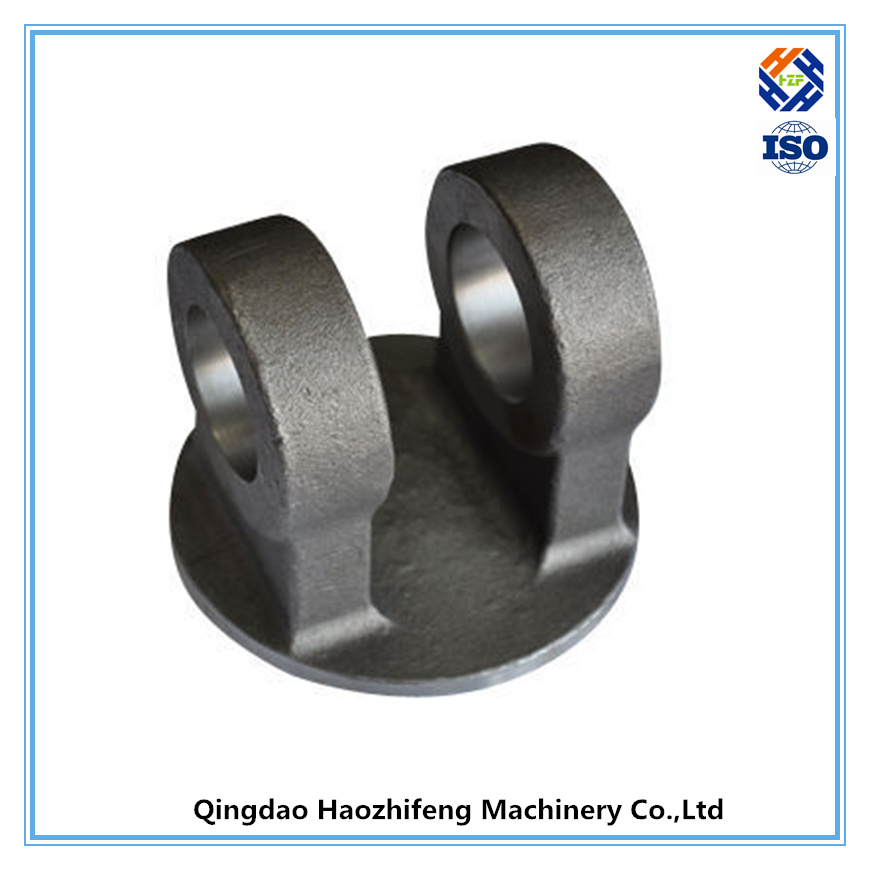 China cast iron for hydraulic cylinder end caps clevis