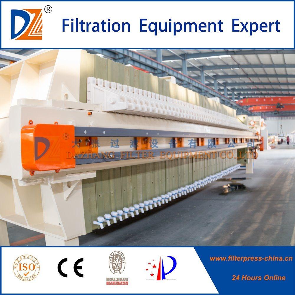 Food Degree Oil Industry Oil Filter Press Machine