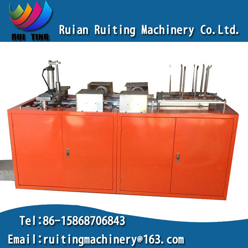 Rtzf-D Auto Fast Food Take Away Lunch Box Making Forming Machine