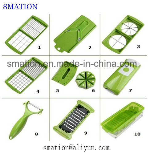 Multifunction Kitchen Cucumber Spiral Potato Fruit Julienne Veggie Vegetable Slicer