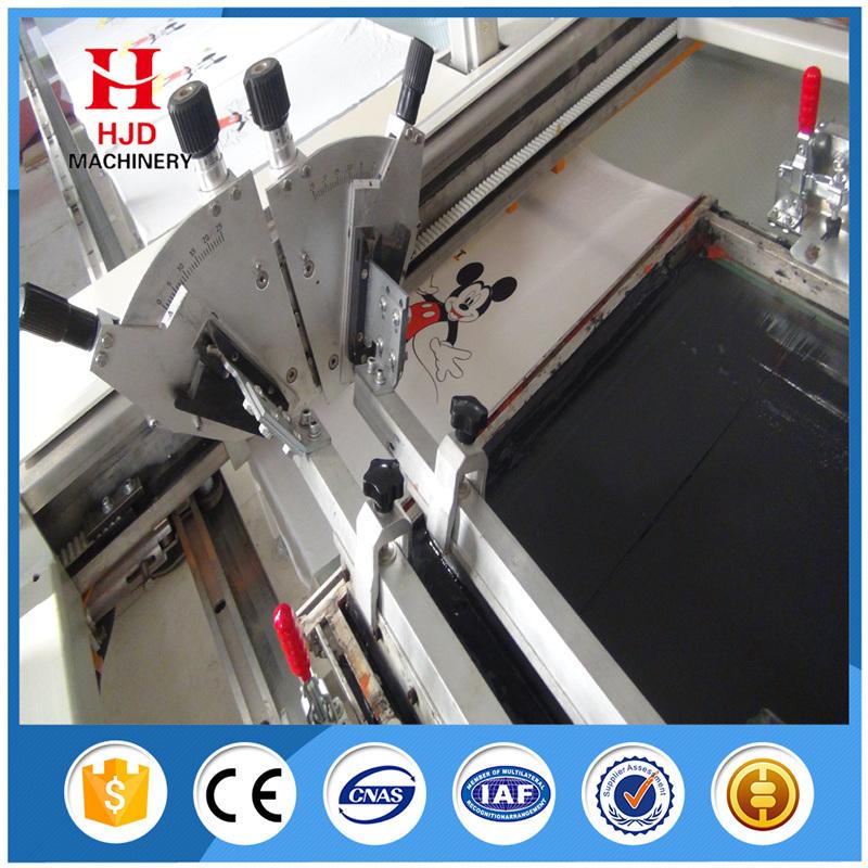 Hwt-a Flat Printer Automatic Silk Screen Printer
