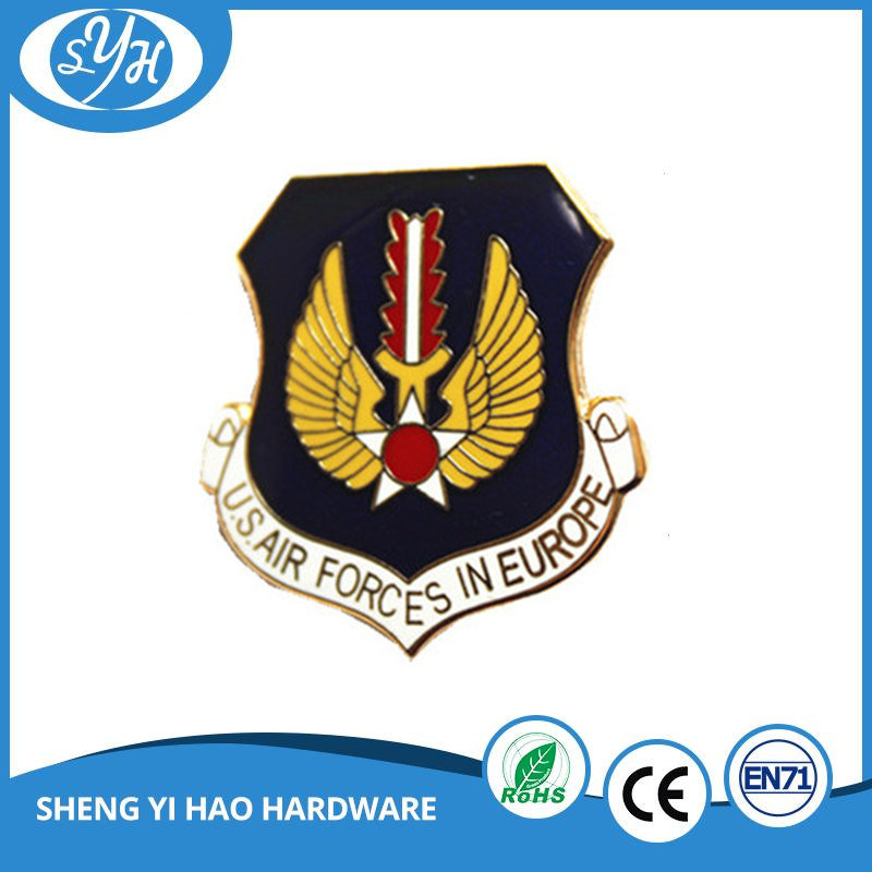 High Quality Customized Hard Enamel Army Badge