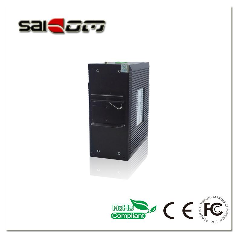 Saicom(SCSW-08062M) 100M Smart Common/Ordinary Temperature 2FX6FE Industrial Management optical Network Switch