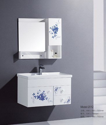 Wall Hung PVC Bathroom Cabinet with narrow bathroom remodeling ideas by cifial usa has from