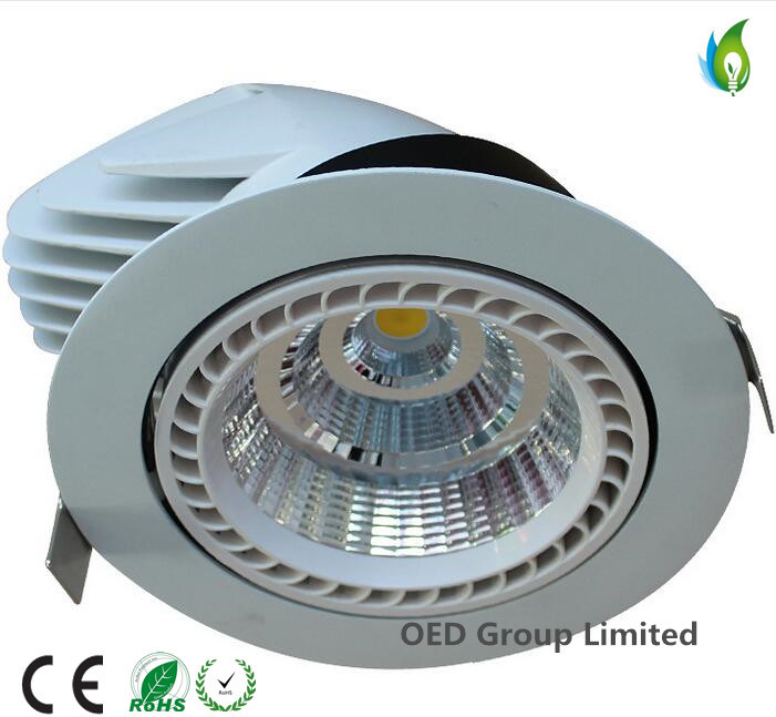 15W LED Embedded Downlight with TUV CB Ce SAA Approved LED Trunk Lamp