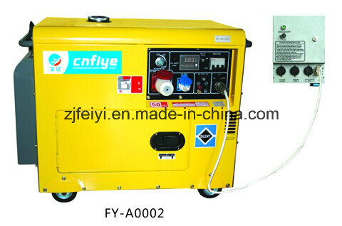 Professional portable 5kw Silent Diesel Generator with ATS