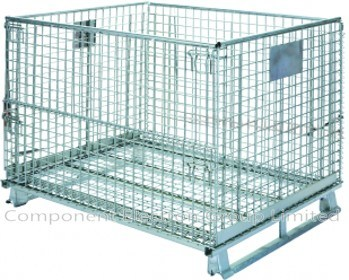 Heavy Duty Storage Cage, Supermarket Cage, Metal Cage, Wire Mesh Container