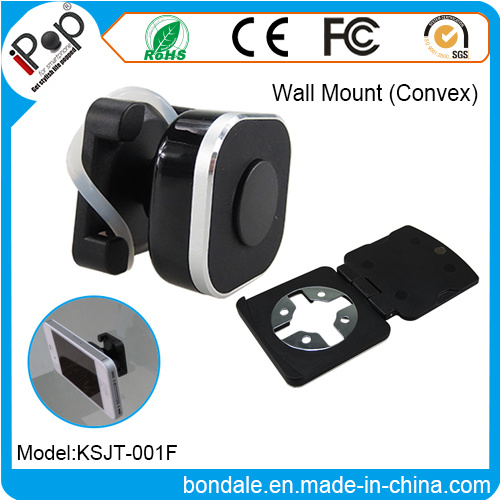 Phone Stand Ring Wall Mount Convex Plastic with Mobile Phone Holder