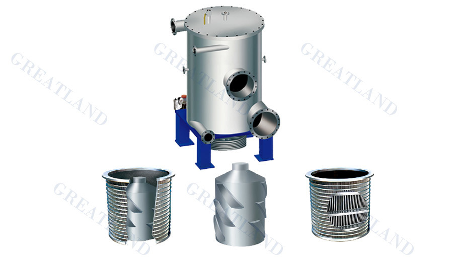 Pressure Screen for Pulp and Paper Industry for Waste Paper Recycling