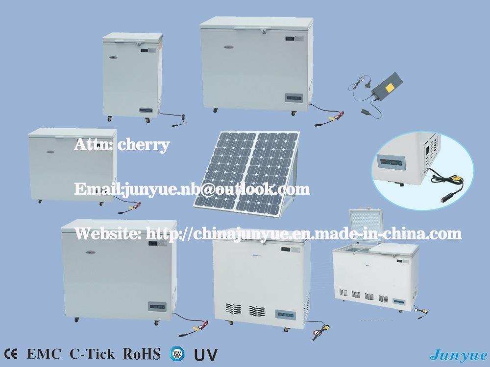 DC12V 24V Solar Power Chest Refrigerator Freezer
