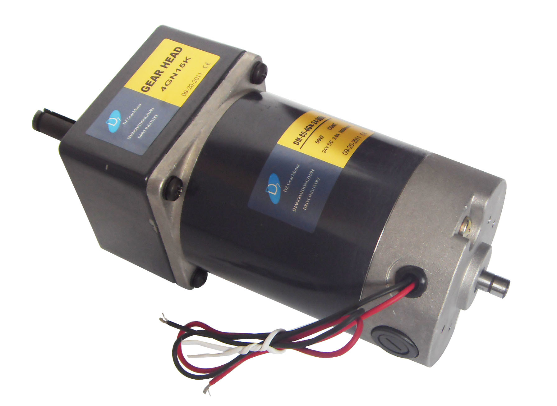China Dc Gear Motor With Encoder Photos Pictures Made