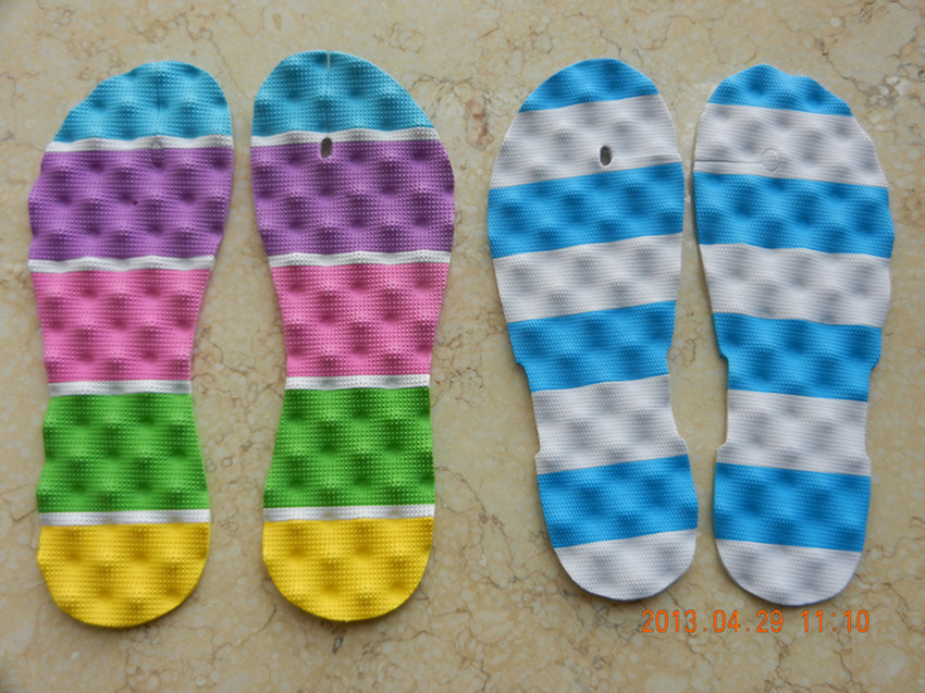 EVA Inner Sole Sheets Massage Double Color Shoe Sole