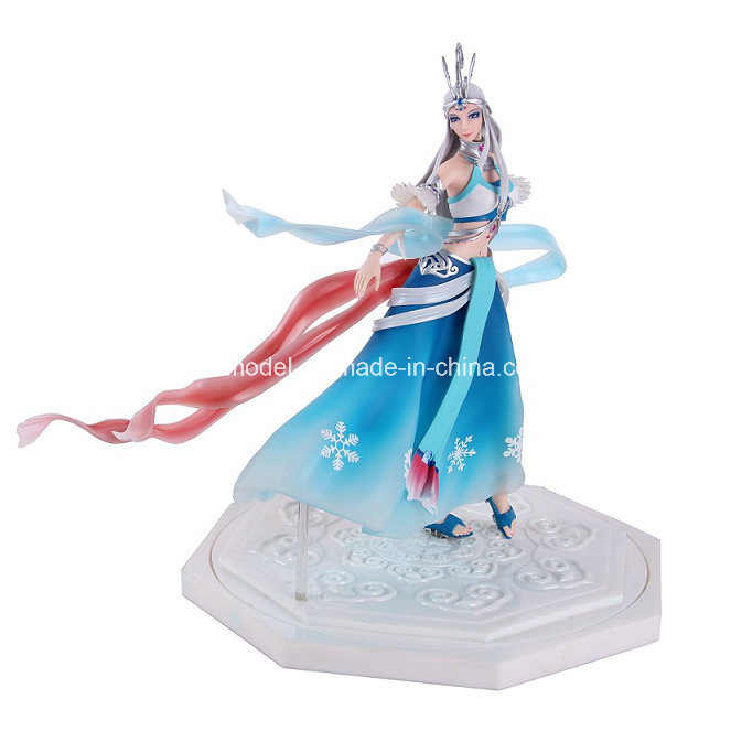 30 Cm Resin Action Figure for Collectible with Base (OEM)