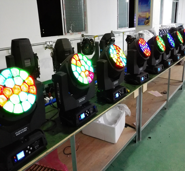 Clay Paky 19X15W Bee Eye LED Beam and Wash Moving Head