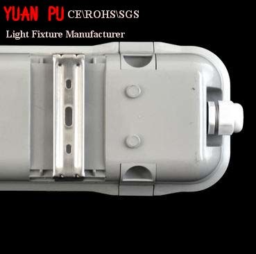 IP65 Waterproof Fixture with Crystal Clear Diffuser