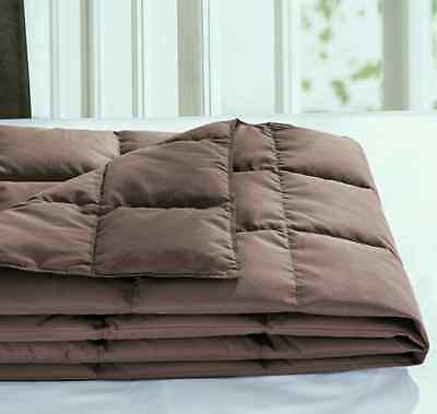 Brown Color Down Blanket