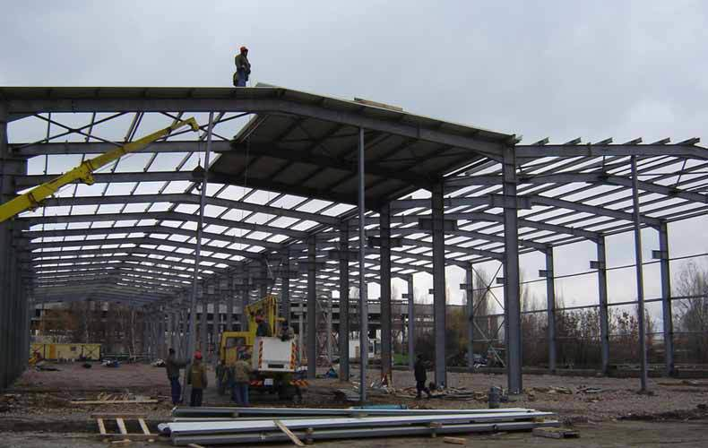 Prefabricated Light H Steel Building
