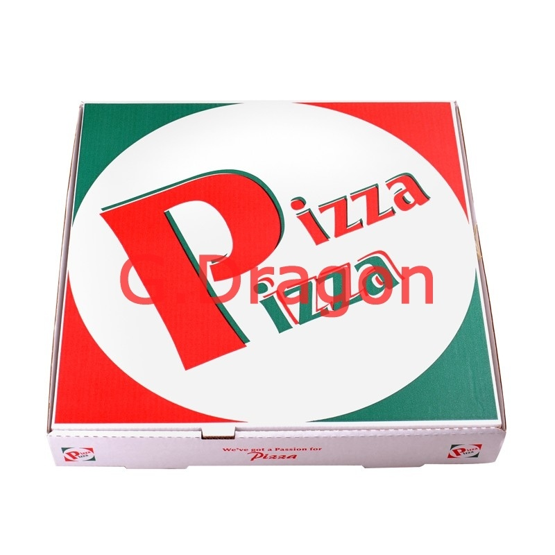 Corrugated Cardboard Box for Pizzas, Cake Boxes, Cookie Containers (PIZZ-017)