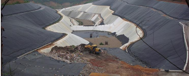 HDPE Geomembrane for Rufuse Landfill