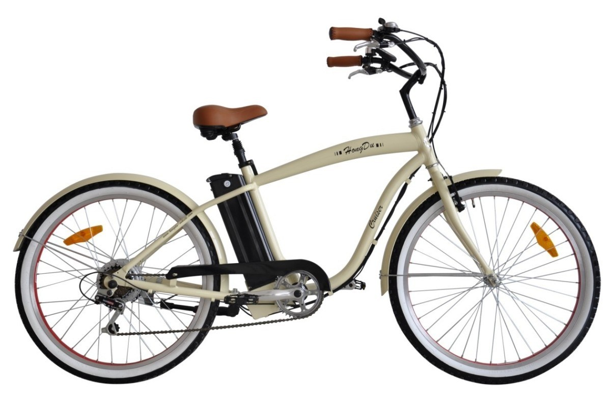 China Beach Cruiser Electric Bicycle With En15194 Certification Photos Amp
