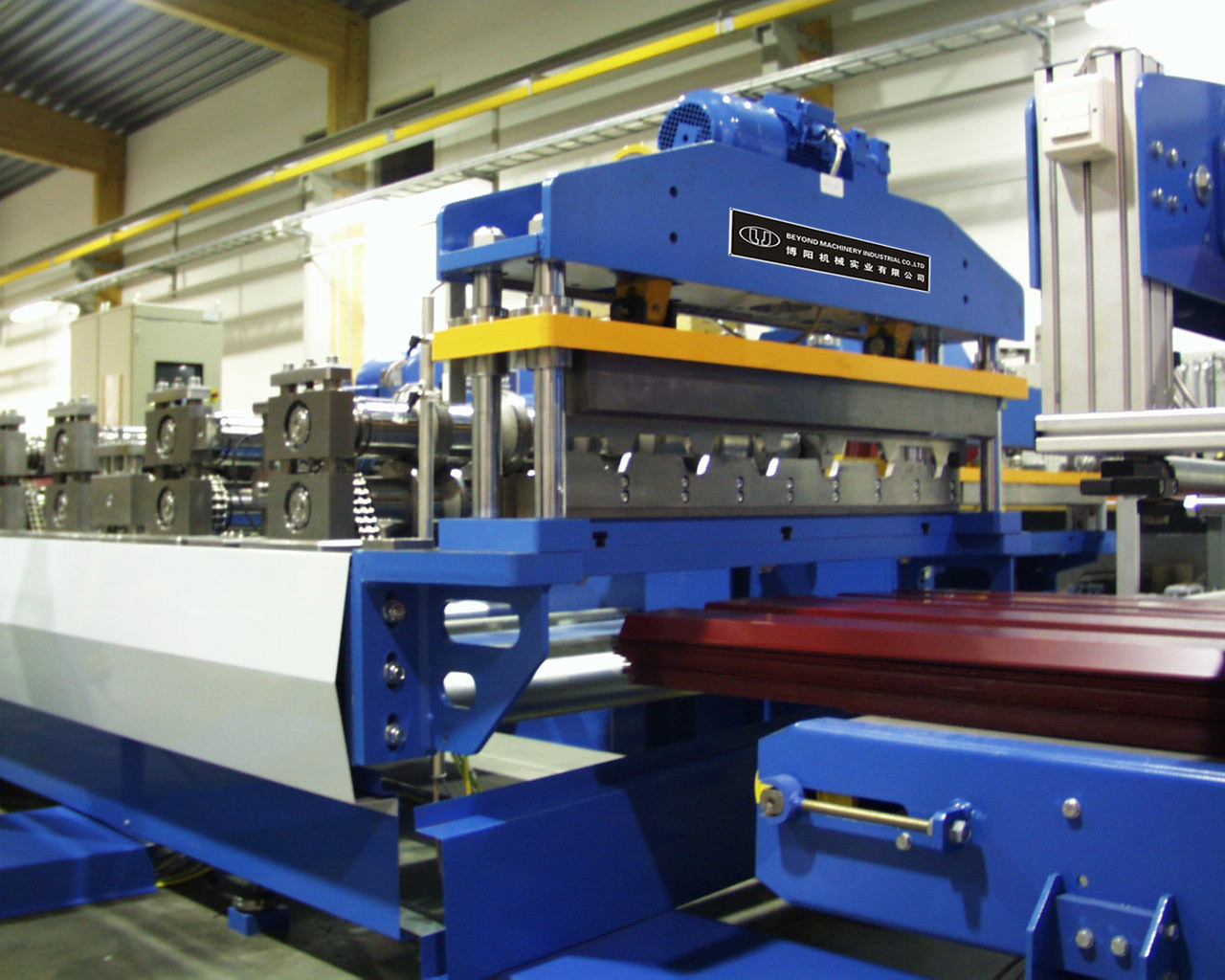 China Steel Roof Wall Panel Roll Forming Machine China