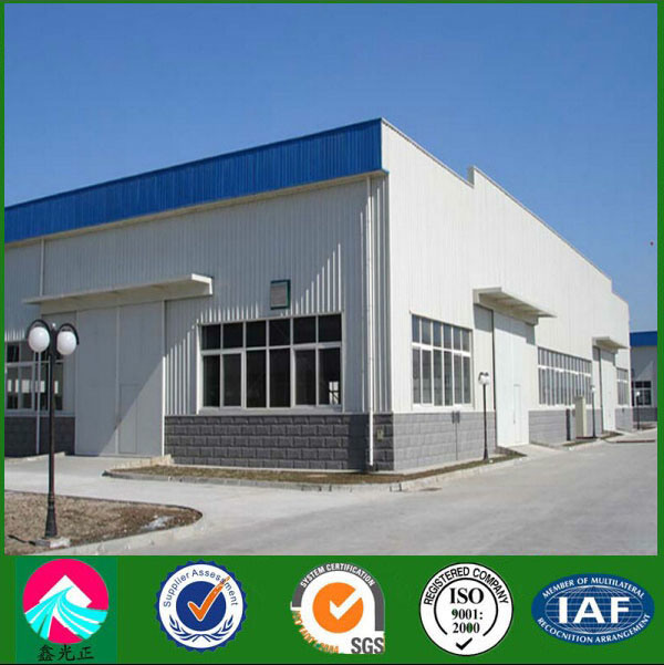 Construction Design Portal Frame and Low Cost Steel Warehouse