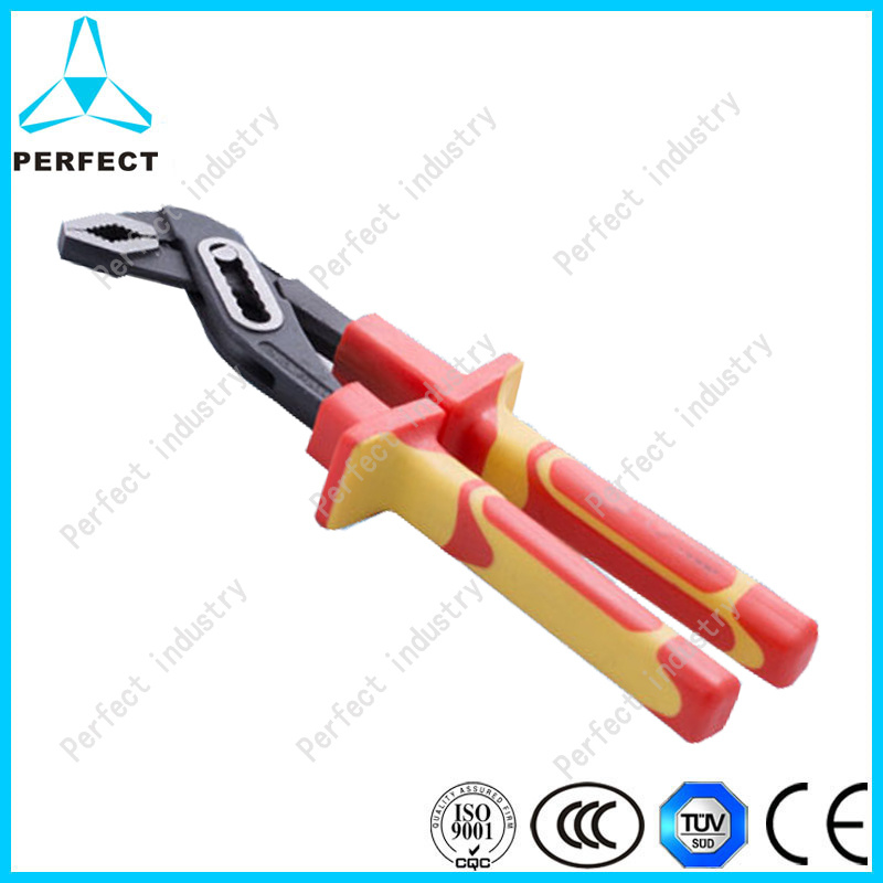 CRV Nickel Plated Water Pump Pliers