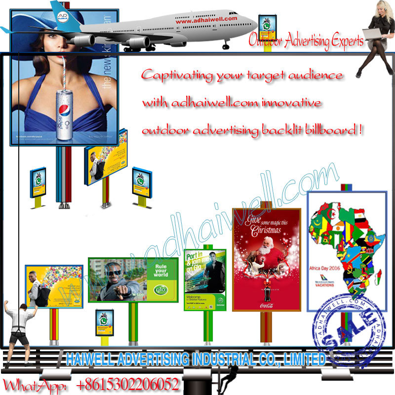 LED Backlit Advertiisng - Bright Green Technology - outdoor Advertising Display - Adhaiwell Experts