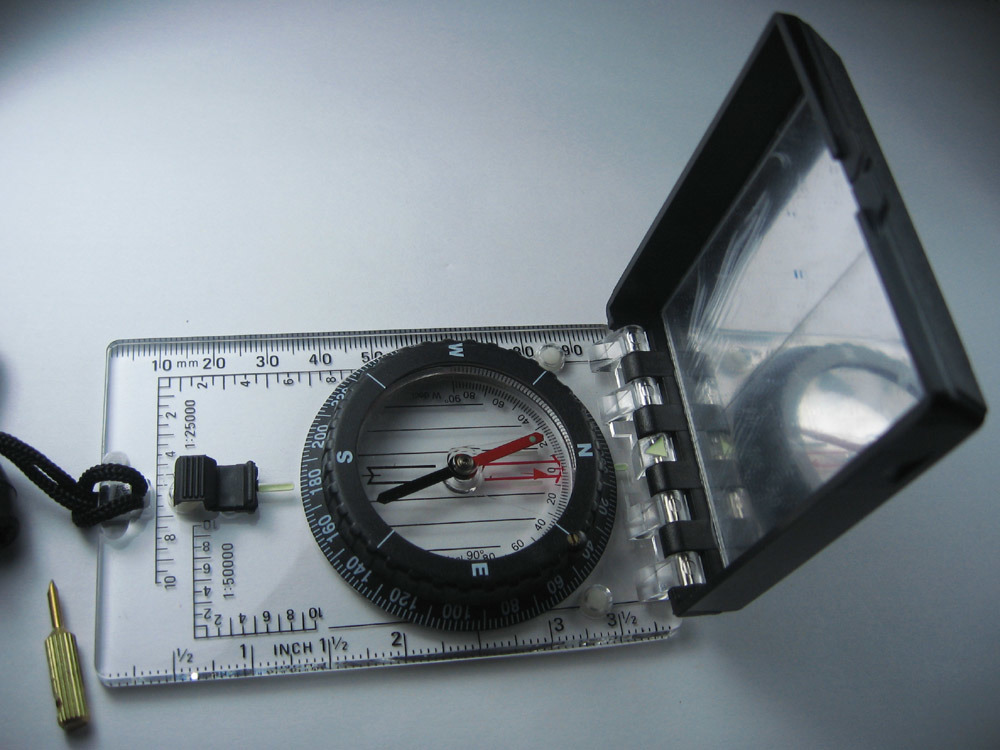 Compass with Inclinometer/Satellite Finder #MA-45-6c
