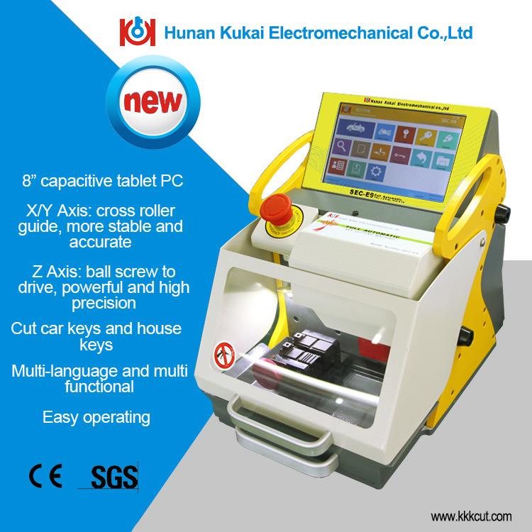 Portable Sec-E9 Automatic Key Duplicating Machine High Security Locksmith Tools