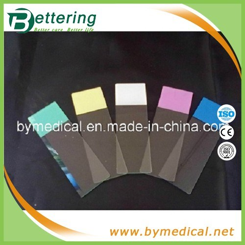 7109 Coloured Frosted Ground Edges Microscope Glass Slide