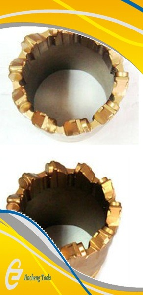 10 Teeth 12teeth PDC Core Drill Bits for Water Well Drilling