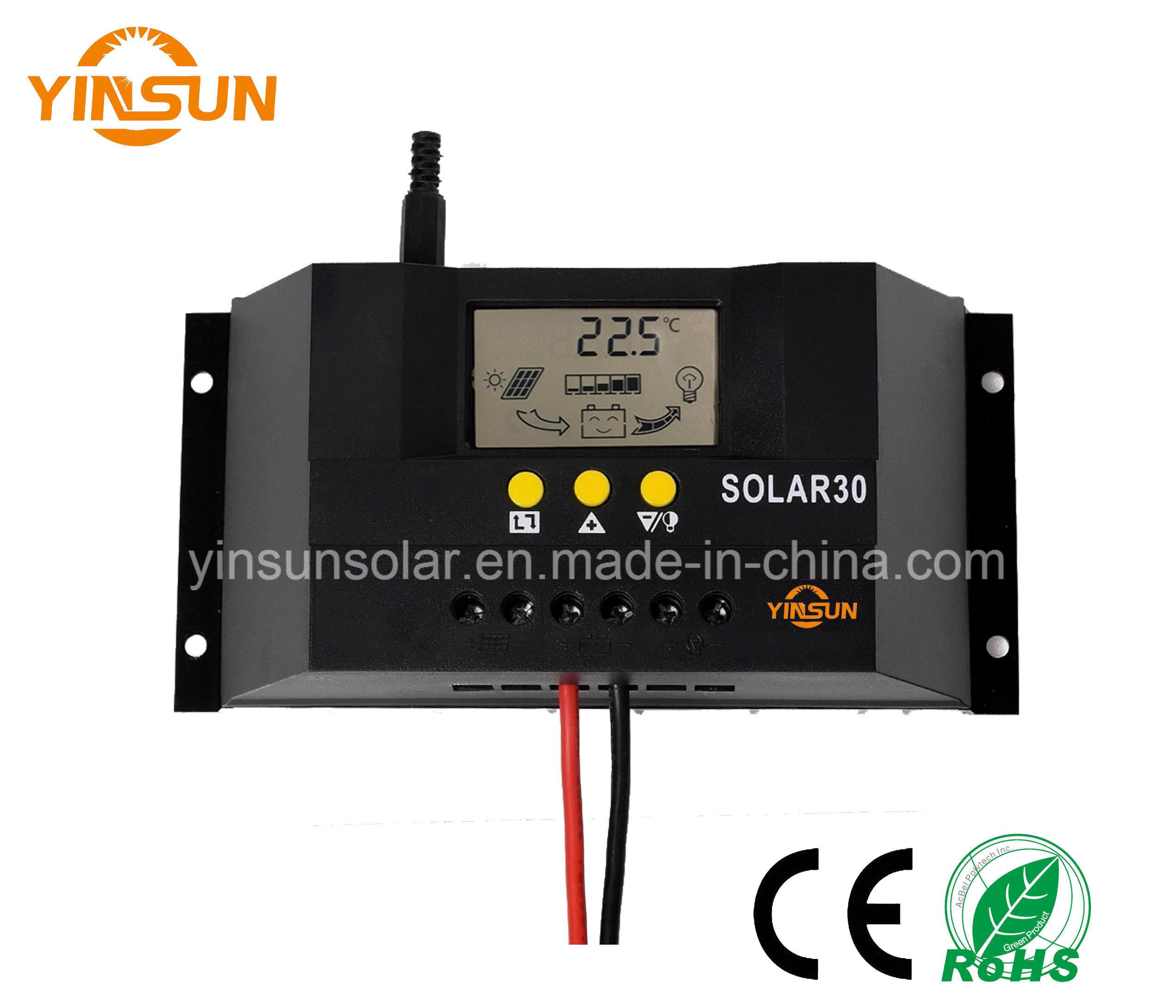 30A 12V 24V Solar Controller for Solar Power System